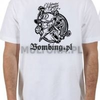 Bombing.pl T-shirt White rozm M