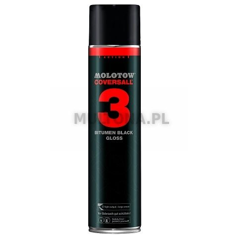 MOLOTOW BLACKTOP 3 COVERS ALL 600ml